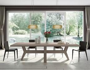 Tavolo in legno rettangolare * fuoco Domus arte a prezzo scontato
