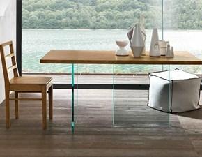 Tavolo in legno rettangolare Ghost Fgf a prezzo scontato