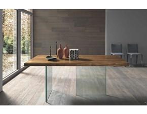 Tavolo in legno rettangolare Ghost Fgf in offerta outlet
