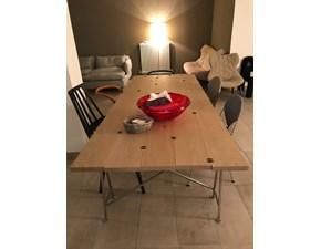 Tavolo in legno rettangolare Ginger Lando in Offerta Outlet