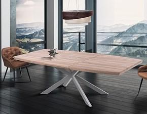Tavolo in legno rettangolare Hics rovere Tomasucci a prezzo scontato