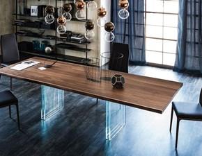 Tavolo in legno rettangolare Ikon drive Cattelan a prezzo scontato