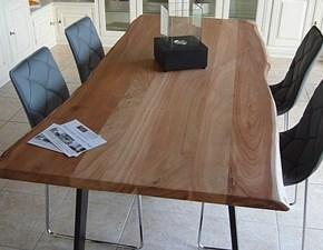 Tavolo in legno rettangolare Io Artigianale a prezzo scontato