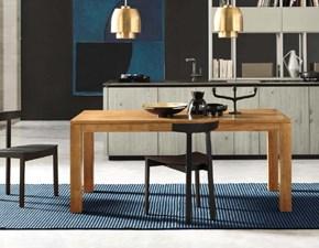 Tavolo in legno rettangolare Izzy Artigianale in Offerta Outlet