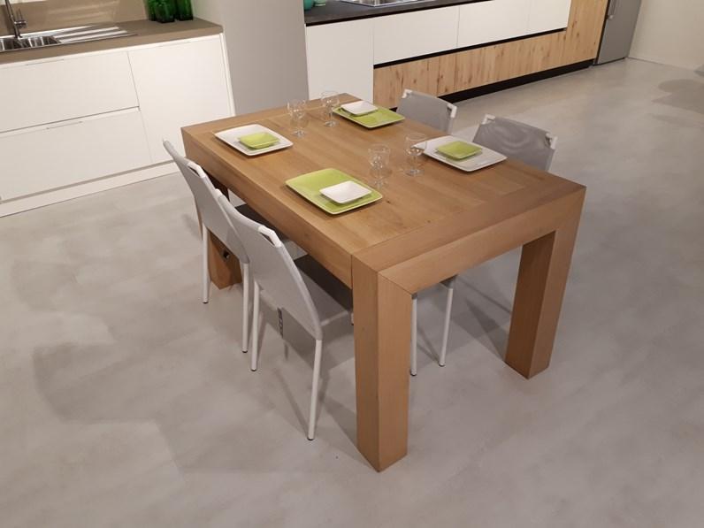 Tavolo in legno rettangolare julien artigianale in offerta for Tavoli ripiegabili