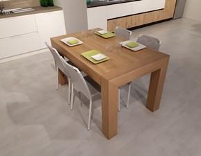 Tavolo in legno rettangolare Julien Artigianale in Offerta Outlet