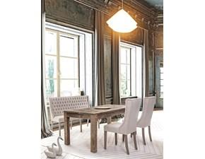 Tavolo in legno rettangolare Kaily Bizzotto a prezzo scontato