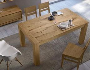 Tavolo in legno rettangolare Kali Artigianale a prezzo ribassato