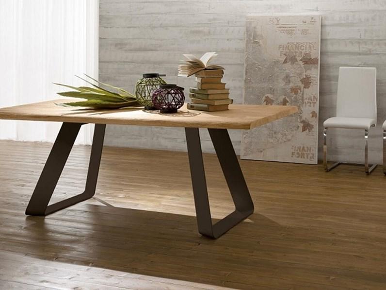 Tavolo in legno rettangolare Liverpool Arredo3 a prezzo scontato