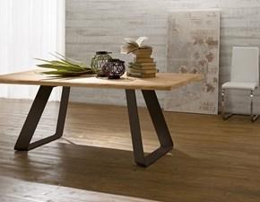 Tavolo living in legno rovere di riflessi scontato del 30 - Tavolo riflessi living prezzo ...