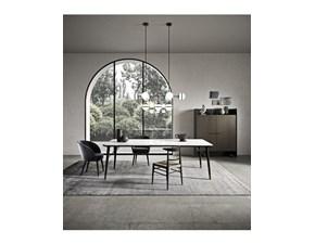 Tavolo in legno rettangolare Merge Presotto a prezzo scontato