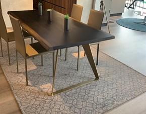 Tavolo in legno rettangolare Messina Mirandola a prezzo scontato