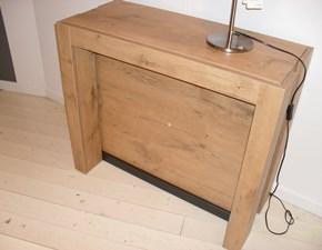 Tavolo in legno rettangolare Micro Pozzoli in Offerta Outlet