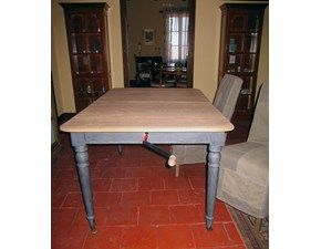 Tavolo in legno rettangolare Mod.2854 di Dialma brown in Offerta Outlet
