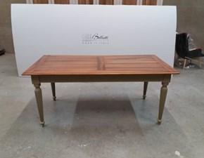 Tavolo in legno rettangolare Modello i solisti Artigianale in Offerta Outlet