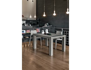 Tavolo in legno rettangolare Monolite Target point in Offerta Outlet