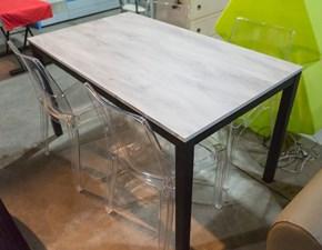 Tavolo in legno rettangolare Monster Artigianale in offerta outlet