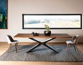 Tavolo in legno rettangolare Nexus Midj a prezzo ribassato