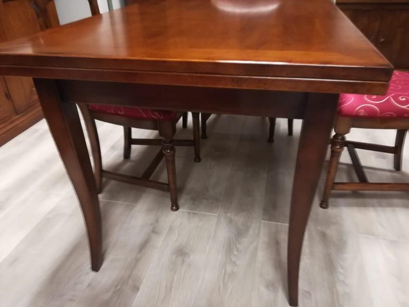Tavolo in legno rettangolare Noce Artigianale a prezzo ribassato