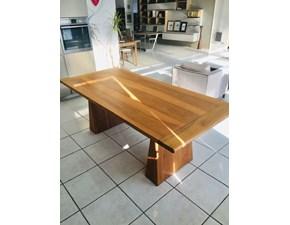 Tavolo in legno rettangolare Officina rivadossi Artigianale in offerta outlet