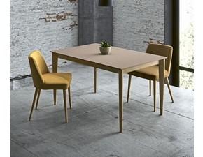 Tavolo in legno rettangolare Operà Artigianale in Offerta Outlet