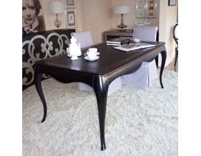 Tavolo in legno rettangolare Otello classico Meroni ugo & figli a prezzo scontato