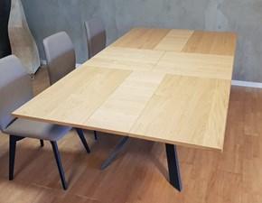 Tavolo in legno rettangolare Outlet tavolo ozzio 4x4 Ozzio a prezzo ribassato