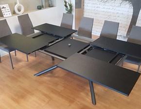 Tavolo in legno rettangolare Outlet tavolo random di ozzio Ozzio a prezzo scontato