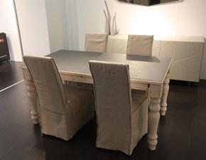 Tavolo in legno rettangolare Pascal deco' Sedit in Offerta Outlet
