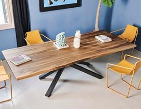 Tavolo in legno rettangolare Pechino Midj a prezzo ribassato
