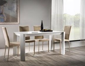Tavolo in legno rettangolare Pechino Pizzolato in offerta outlet