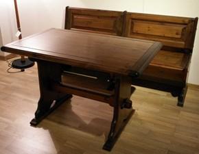 Tavolo in legno rettangolare Pino di Grattarola a prezzo scontato