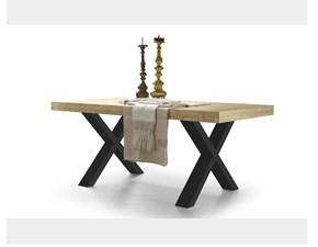 Tavolo in legno rettangolare Post t/1192 Zamagna a prezzo ribassato