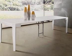 Tavolo in legno rettangolare Prisma  Artigianale in offerta outlet