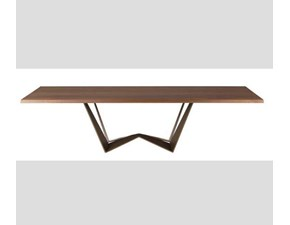 Tavolo in legno rettangolare Reverse wood Mottes selection a prezzo scontato