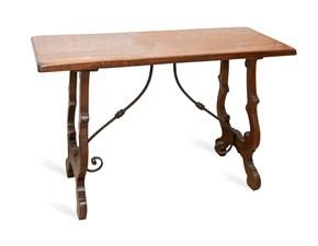 Tavolo in legno rettangolare Rustico Artigianale a prezzo scontato