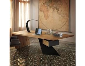 Tavolo in legno rettangolare Scrivania nasdaq Cattelan in Offerta Outlet