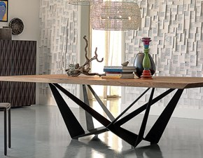 Tavolo in legno rettangolare Skorpio wood Cattelan a prezzo scontato
