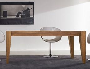 Tavolo in legno rettangolare Slooping Fgf a prezzo ribassato