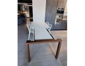 Tavolo in legno rettangolare Smoke Connubia a prezzo scontato