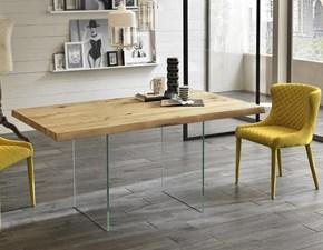 Tavolo in legno rettangolare Snooker Stones in Offerta Outlet