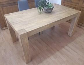 Tavolo in legno rettangolare Stoccolma Artigianale a prezzo ribassato