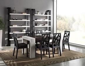 Tavolo in legno rettangolare Stone allungabile Artigianale in Offerta Outlet