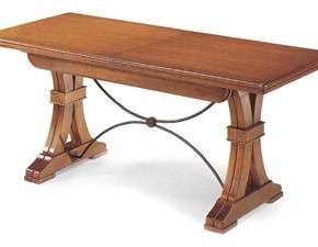 Tavolo in legno rettangolare Tavolo fratino Artigianale a prezzo ribassato