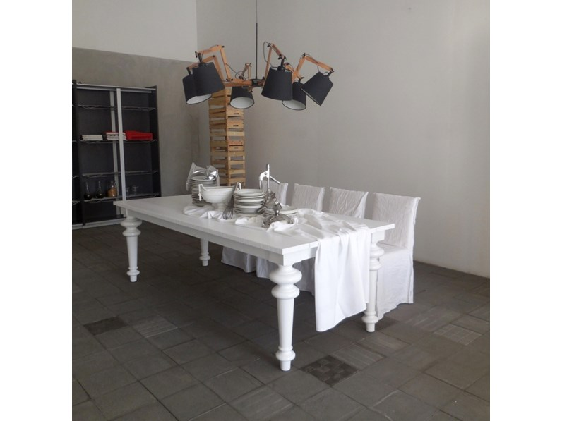 Tavolo in legno rettangolare tavolo gray 33 cr sedie - Tavoli e sedie in offerta ...