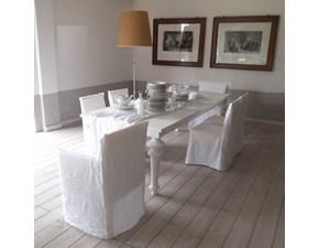 Tavolo in legno rettangolare Gray 33 cr + sedie Ghost di Gervasoni in Offerta Outlet