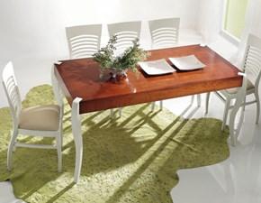 Tavolo in legno rettangolare Tavolo in legno di ciliegio mottes mobili Artigianale in Offerta Outlet