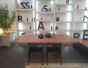 Tavolo in legno rettangolare Tavolo in legno Presotto italia in offerta outlet