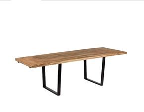 Tavolo in legno rettangolare Tavolo legno industrial bristol Nuovi mondi cucine a prezzo scontato