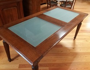 Tavolo in legno rettangolare Tavolo rettangolare i solisti Artigianale a prezzo scontato